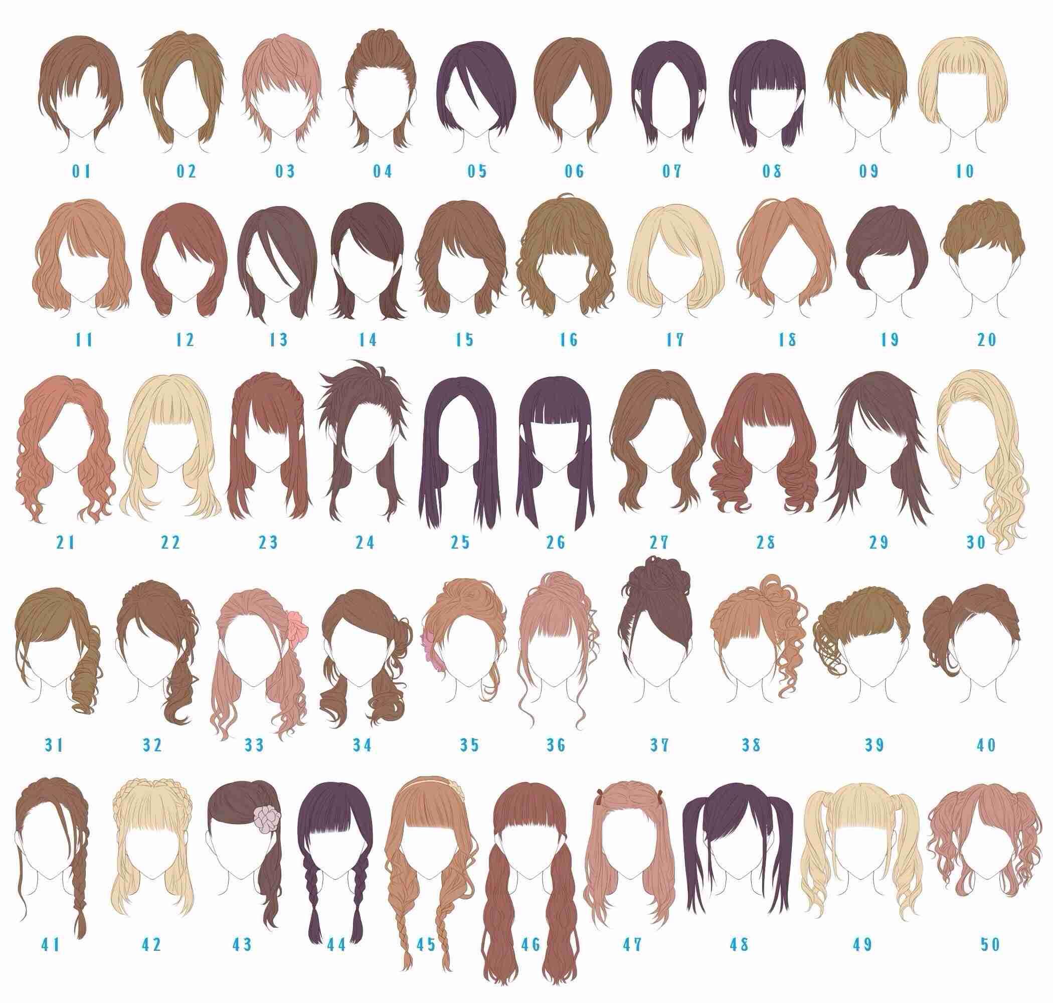 【ヘアスタイル用語まとめ】美容室に行って悩まない髪型の種類を紹介 MARBLE [マーブル]