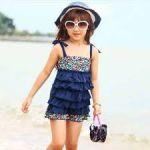 子供の水着がお洒落すぎる☆小さくたって、やっぱり乙女なんです!のサムネイル画像
