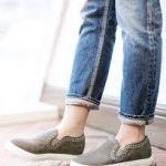 らくちんなのにかわいい!どう履きこなす?スリッポンコーディネートのサムネイル画像