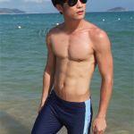 これを着ればモテる?!海に行く時に着たい男性の人気水着ブランド★のサムネイル画像
