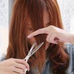 かんたん!便利!失敗しない!自分で前髪をカットする方法!!のサムネイル画像