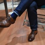 カジュアルな革靴ファッションで大人にお洒落にコーディネート!のサムネイル画像