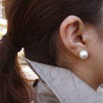かわいい!コットンパールのイヤリングでオシャレのランクアップ!のサムネイル画像