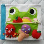 【ハンドメイド】可愛い赤ちゃんに手作りの布絵本をプレゼント!のサムネイル画像
