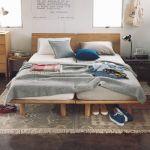 シンプルで居心地の良い空間・無印良品で作る素敵なベッドルーム!のサムネイル画像