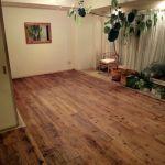 フローリングに変身!賃貸の和室をDIYでおしゃれな洋室にしたい☆のサムネイル画像