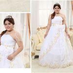 身体が大きい人用のロングドレス、大きいサイズはどこで選ぶの?のサムネイル画像