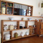 カウンター下収納をDIY!食器の収納もインテリアとして楽しもう☆のサムネイル画像