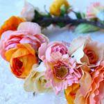 100均の造花が手作りでおしゃれに。安くて手軽に造花をアレンジ。のサムネイル画像