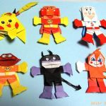 子供に大人気♡子供の大好きなキャラクターを折り紙で作る【折り方】のサムネイル画像