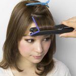 忙しい朝を助けてくれる前髪をセットするコテとその選び方をご紹介!のサムネイル画像