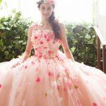 結婚式でのお色直しのカラードレス、人気色ランキングTOP5のサムネイル画像