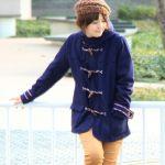 【画像】ネイビーコートをオシャレに着こなそう!合う小物も紹介!!のサムネイル画像