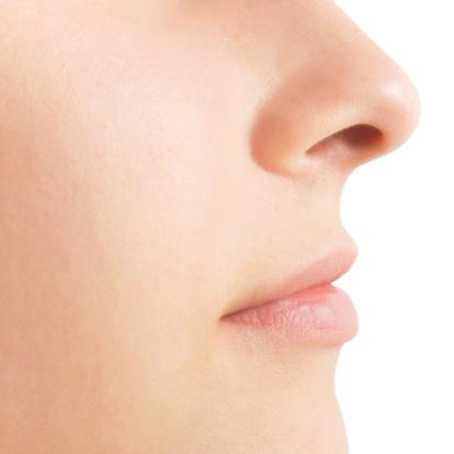 鼻の下 イメージ