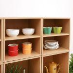 カラーボックスが食器棚に大変身!驚きの見事なアレンジ術大公開のサムネイル画像