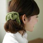 毛糸のシュシュが可愛い!簡単に自分で作れる毛糸のシュシュをご紹介のサムネイル画像