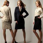 シンプルなスカートスーツを着まわそう!オフィスコーデをご紹介☆のサムネイル画像