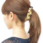 今人気のヘアクリップと、ヘアクリップを使った人気のヘアアレンジ☆のサムネイル画像