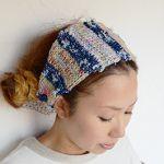暖か可愛い☆ニットヘアバンドでほっこりお洒落♪ニットの編み方も♡のサムネイル画像