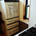 真っ白だけじゃつまらない!変身!冷蔵庫のリメイクは簡単なんです!のサムネイル画像