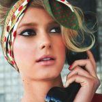 人とは違ったおしゃれを!スカーフを使ってヘアアレンジを楽しもう☆のサムネイル画像