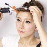 簡単☆お洒落♡前髪はコテでふんわり!前髪のコテの使い方は?のサムネイル画像