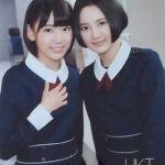 HKT48のメンバーで一期生でもある兒玉遥と宮脇咲良の関係とは!?のサムネイル画像