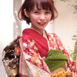 ショートヘアで袴でオシャレ。袴はロングだと思い込んでいない??のサムネイル画像