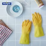 可愛くなきゃ♪キッチンで使うゴム手袋にもこだわりたいんです!のサムネイル画像