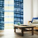 カーテン選びの参考に♪ブルー系カーテンのコーディネート例のサムネイル画像