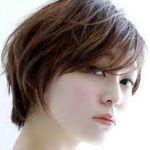 前髪長めのクールなショートヘアをご紹介!大人っぽさが人気の秘密!のサムネイル画像