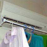 あなたは洗濯物にエアコンをつかっていますか?便利ですよ!是非!のサムネイル画像