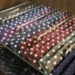 レディースネクタイのドット柄をご紹介!柄の組み合わせがオシャレ!のサムネイル画像