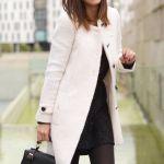 白のコートが可愛い♡冬に大活躍するのは白のコートで決まり♡のサムネイル画像