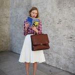デートにも♡着回し力も抜群の白のフレアスカートが最強かわいい!のサムネイル画像