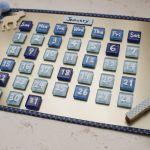 手軽に作れて楽しい♪おしゃれな手作りカレンダーのアイデア!のサムネイル画像