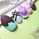 もうすぐ【バレンタイン】♡とろけるチョコレートネイルで決まり!!のサムネイル画像