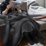 ユニクロのひざ掛けがとってもきゃわわわであったかい件についてのサムネイル画像