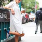 2016年もシンプルだけど侮れない白シャツワンピコーデ♡のサムネイル画像