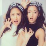 CMにも姉妹で出演!E-girlsの美人姉妹・藤井萩花さん&夏恋さん!のサムネイル画像