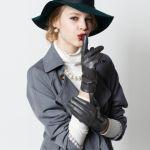 革手袋は男っぽい?でも思い切ってマニッシュに決めて女性らしく!のサムネイル画像
