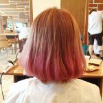 トレンド&女性らしいピンクカラーで、毛先のおしゃれを楽しもうのサムネイル画像