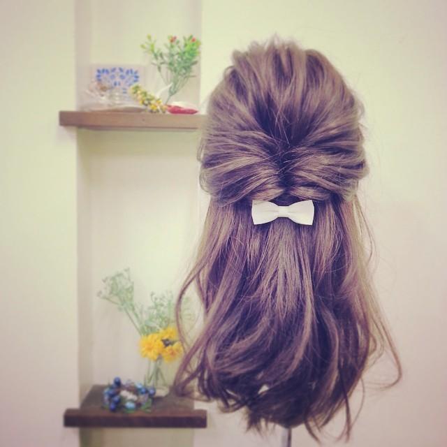 髪の毛をまとめてくるりんぱするだけ!|MARBLE [マーブル]