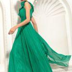 爽やかなグリーンのパーティードレスで周りと差をつけよう!!のサムネイル画像
