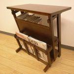 【収納付きサイドテーブル】便利に使えてお部屋もすっきり!のサムネイル画像