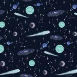 【ネイルデザイン】指先に宇宙を閉じ込めて 神秘的なデザインが魅力のサムネイル画像