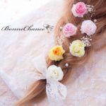 髪飾りから春を取り入れよう!花モチーフの可愛い髪飾りカタログ♡のサムネイル画像