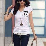 やっぱり最強!!【白Tシャツ】♡どんな流行にも流されない♡のサムネイル画像
