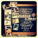 ウエディングシーンで使える写真を使ったおしゃれなウェルカムボードのサムネイル画像