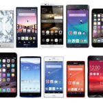Androidスマートフォン選びに迷わない!?人気機種とメーカーまとめのサムネイル画像